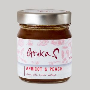Greka Foods | Authentic Greek Jam | Apricot and Peach - Handmade - Quality Greek products