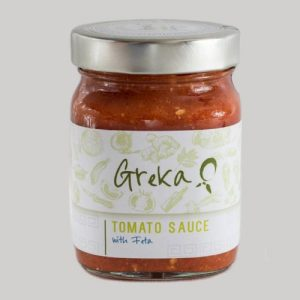 Greka Foods | Greek Sauces | Tomato and Feta Pasta Sauce