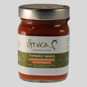 Greka Foods - Quality Greek food - Greek Cookery - Authentic Tomato Sauces - Smoked Bacon - Green Peppers