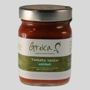 Greka Foods - Quality Greek food - Authentic Greek Tomato Sauces - Basil