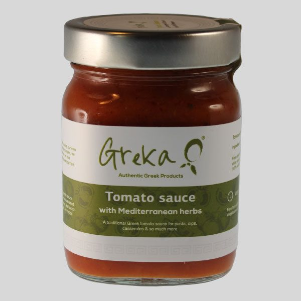 Greka Foods - Quality Greek food - Greek Cookery - Authentic Tomato Sauces - Award winning - Mediterranean Herbs