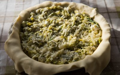 Greek Leek and Feta Cheese Pie