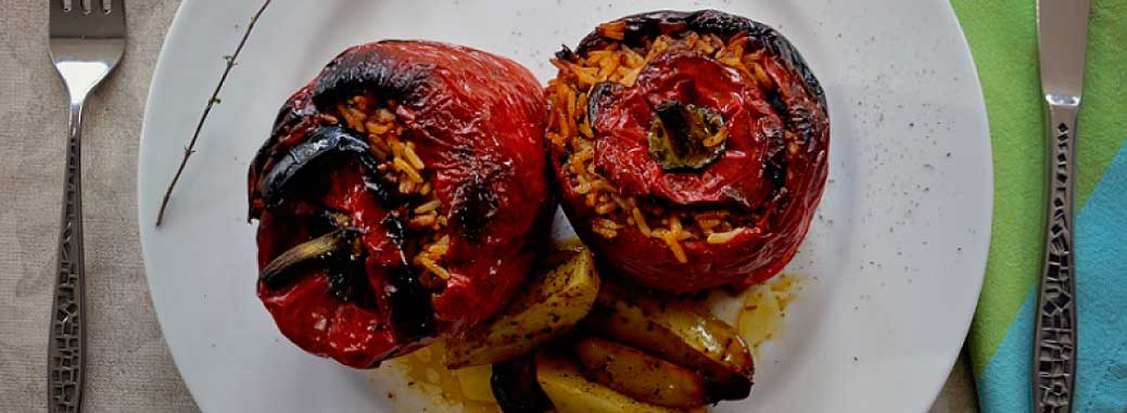 Gemista – Stuffed Vegetables