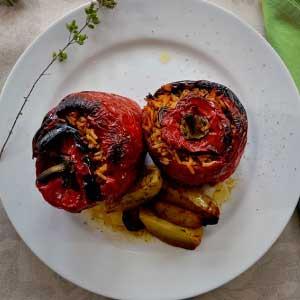 Greka Foods - Quality Greek food products - Authentic Greek Cookery - Stuffed vegetables - Gemista