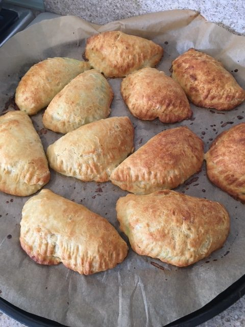 Tyropitakia – Greek Cheese Pies