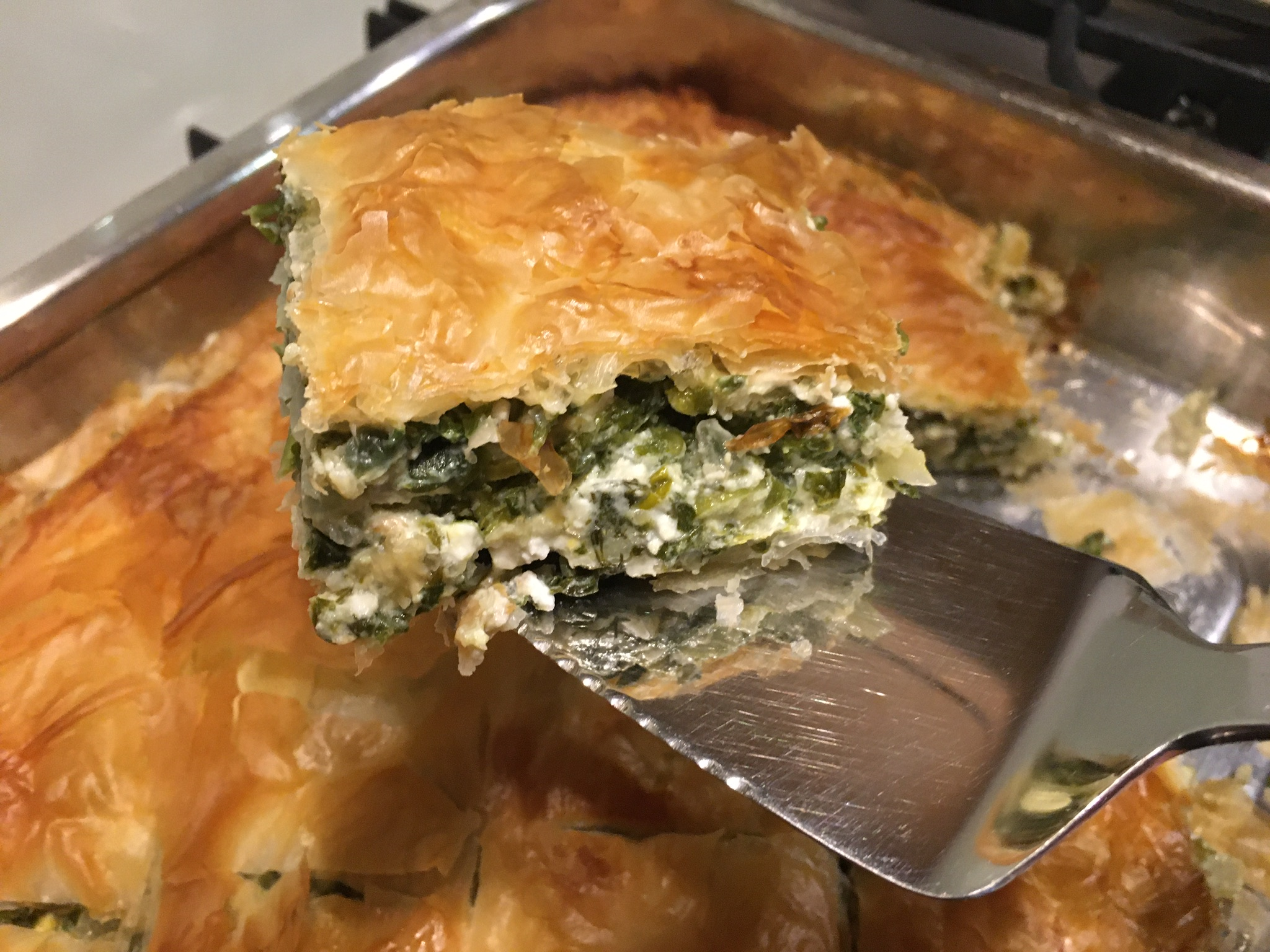 Greek Spinach & Feta pie