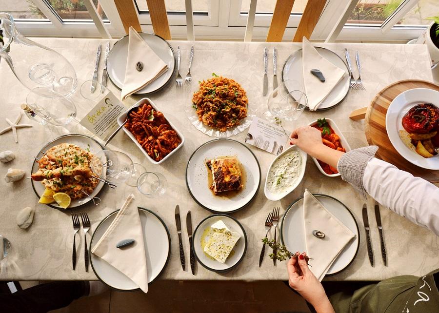 The glorious Greek cuisine!