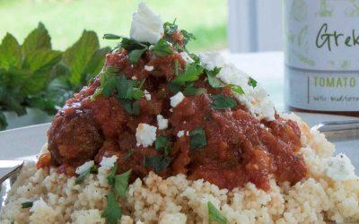 Soutzoukakia – Cumin Meatballs in Greka Tomato Sauce
